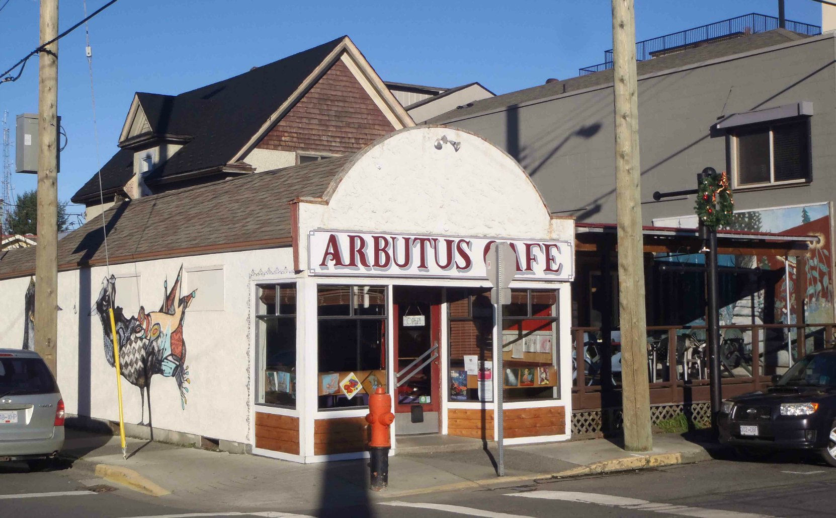 Arbutus Cafe, 195 Kenneth Street, Duncan, B.C.