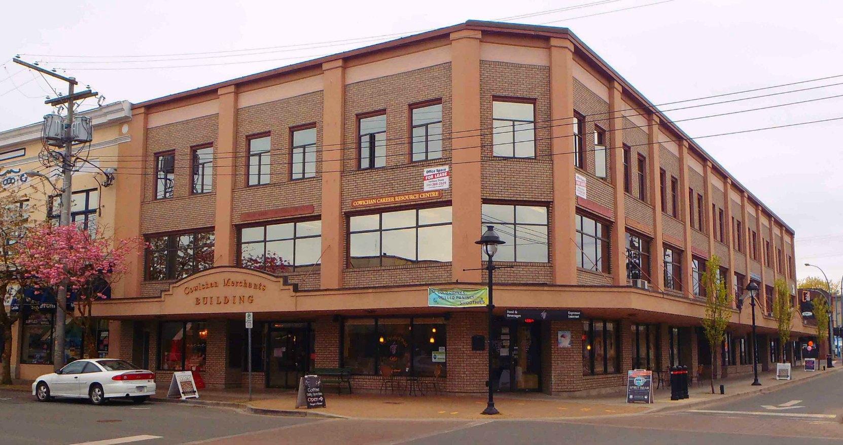 Cowichan Merchants Building, Craig Street and Station Street, Duncan, B.C.