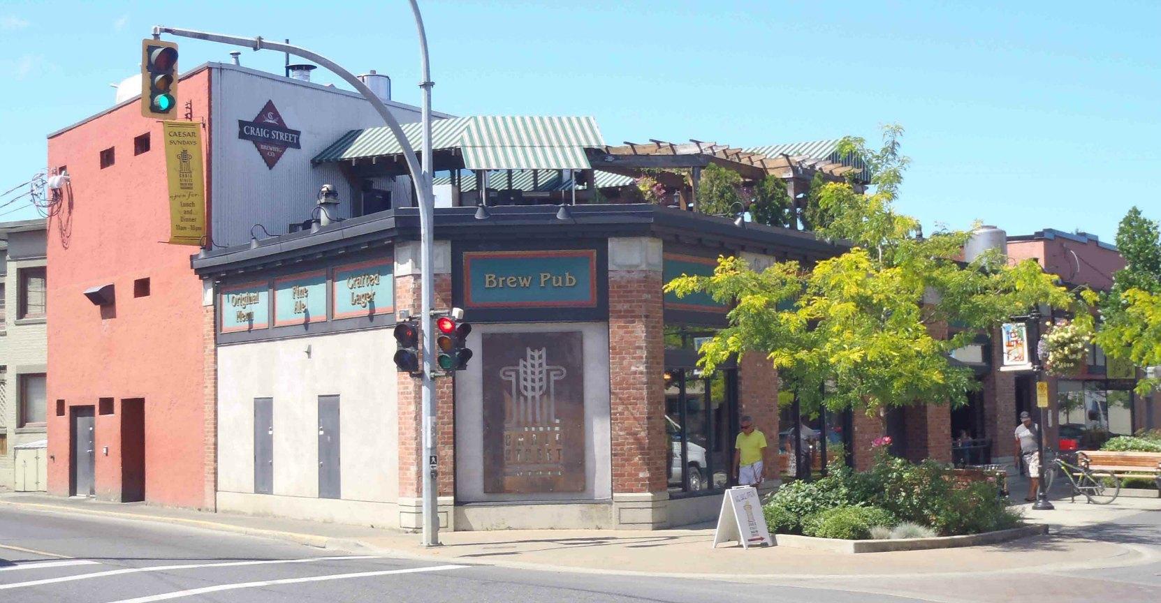 Craig Street Brew Pub, 25 Craig Street, Duncan, B.C.