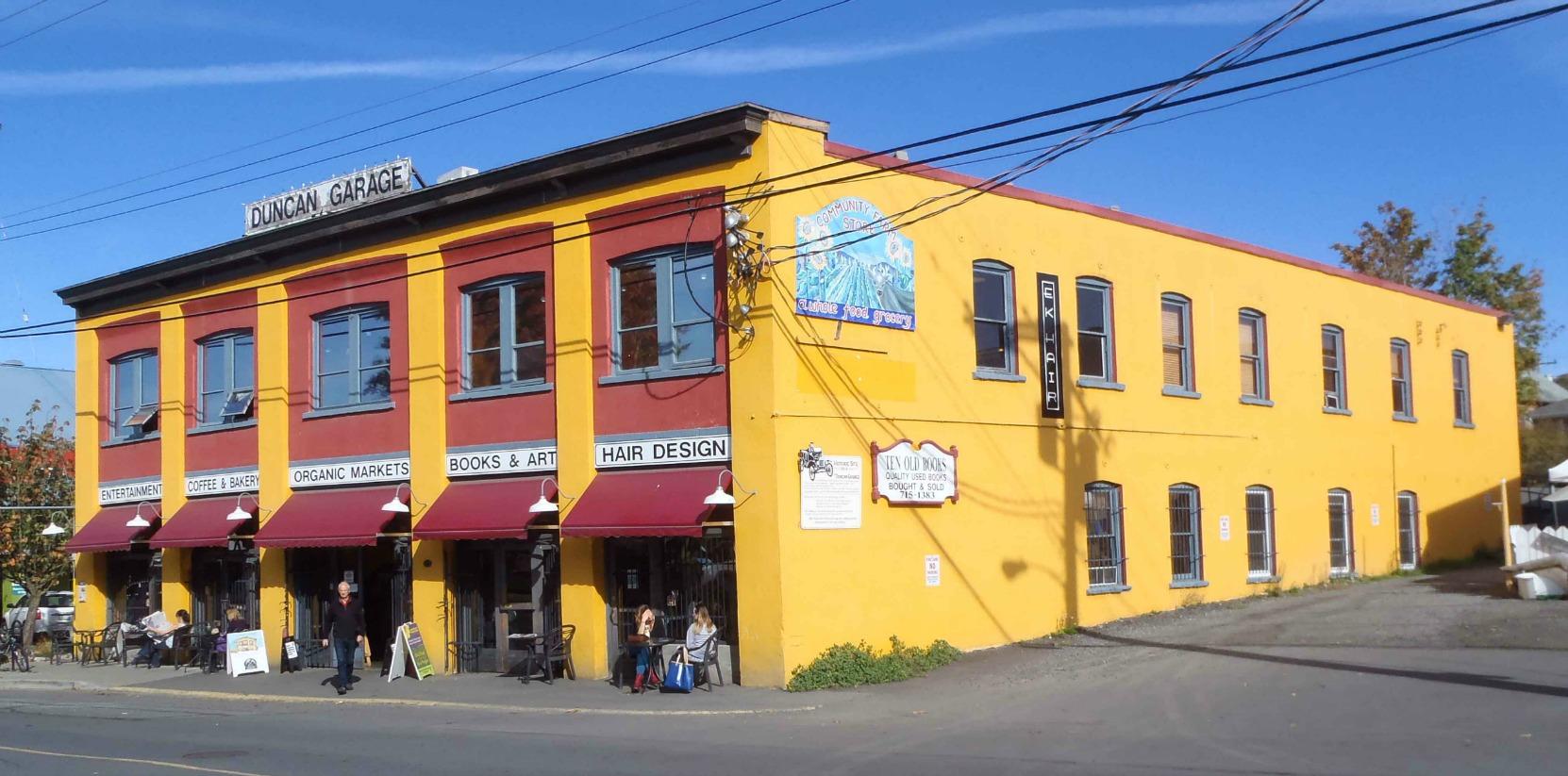 Duncan Garage, Duncan Street
