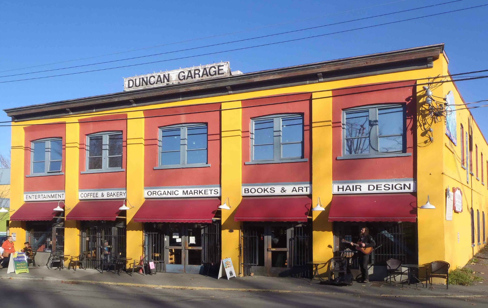 Duncan Garage, Duncan Street, Duncan, B.C.