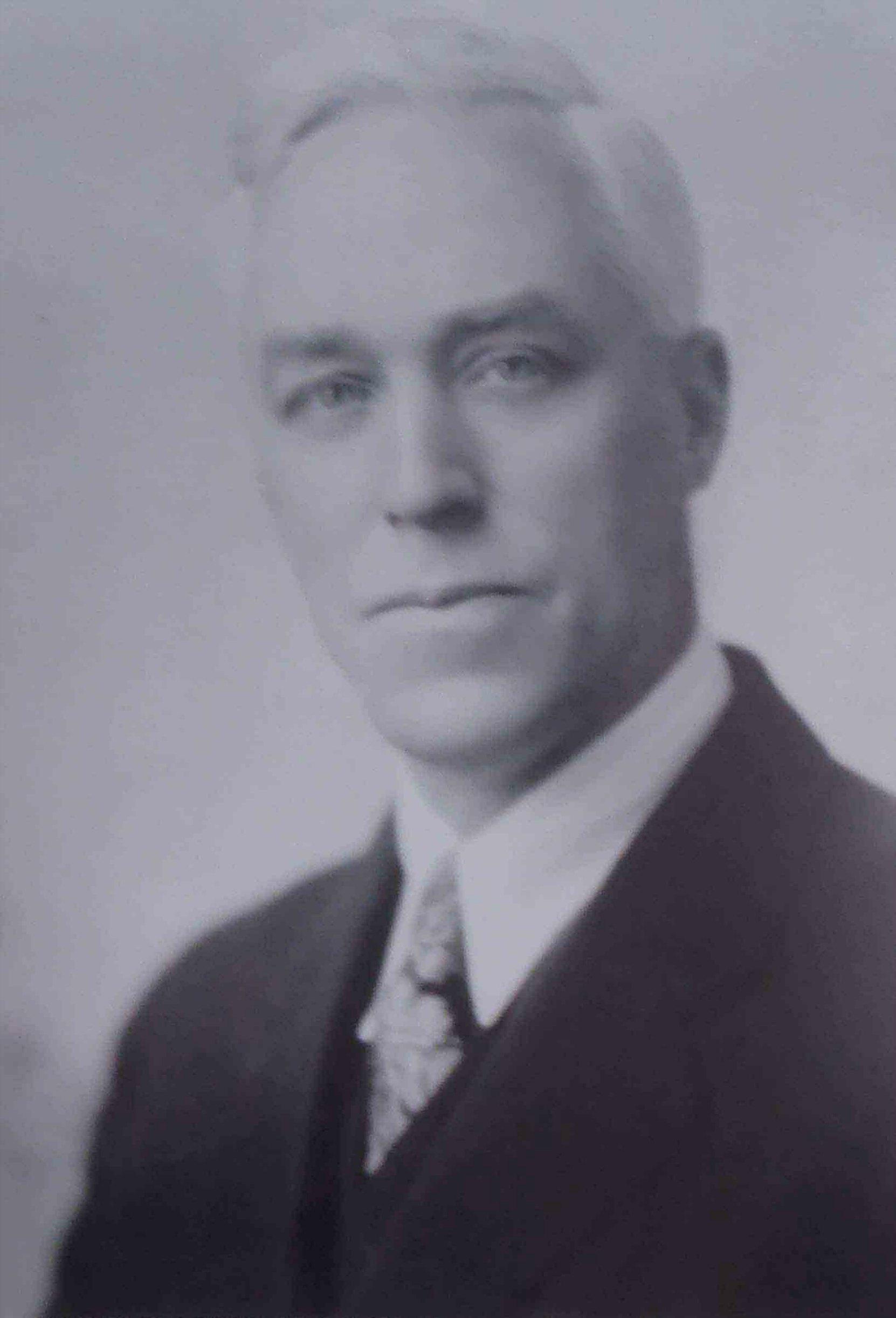 Harold Fairfax Prevost, circa 1930 as Mayor of Duncan (Photo courtesy of City of Duncan)