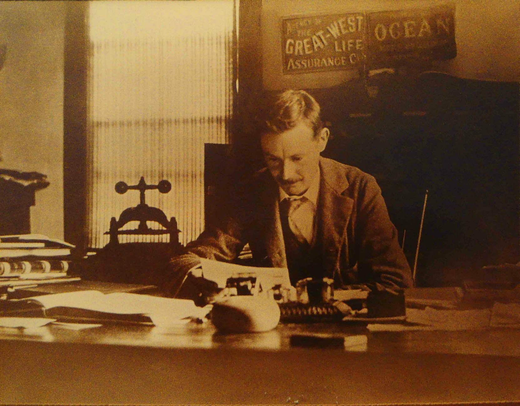 James Henry Whittome, circa 1910 (Photo courtesy of Cowichan Estates Ltd.)