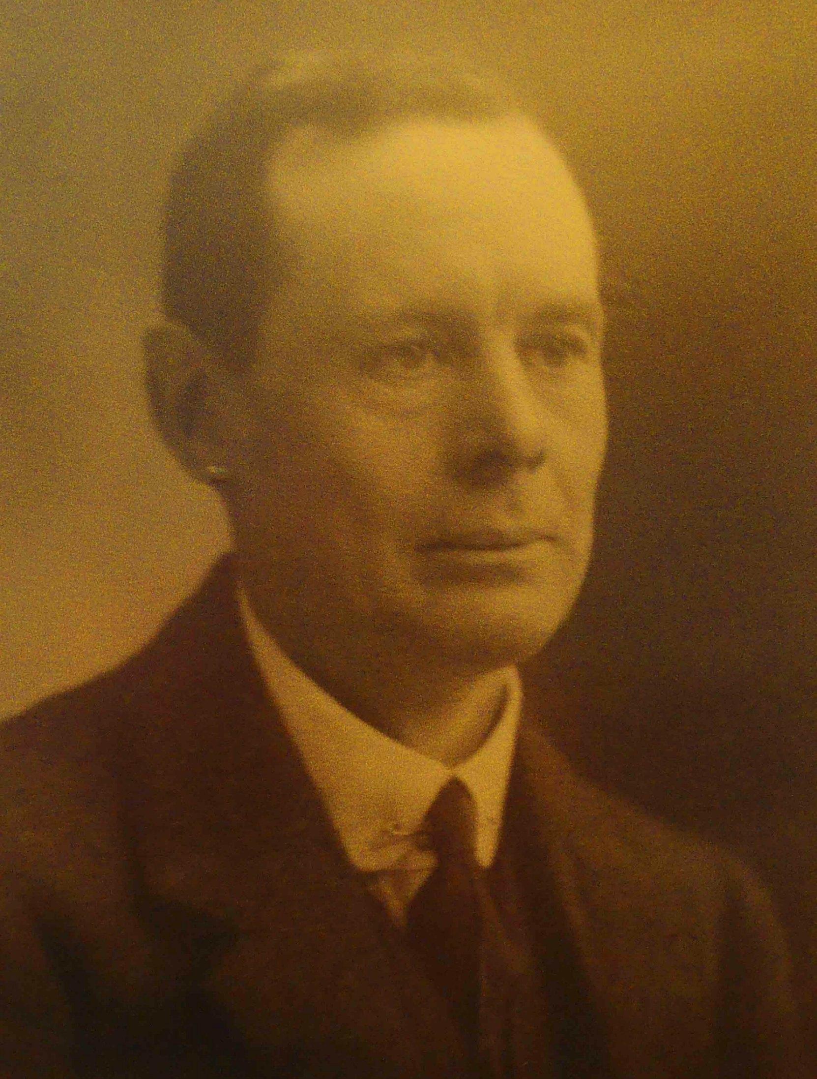 James Henry Whittome, circa 1920 (Photo courtesy of Cowichan Estates Ltd.)
