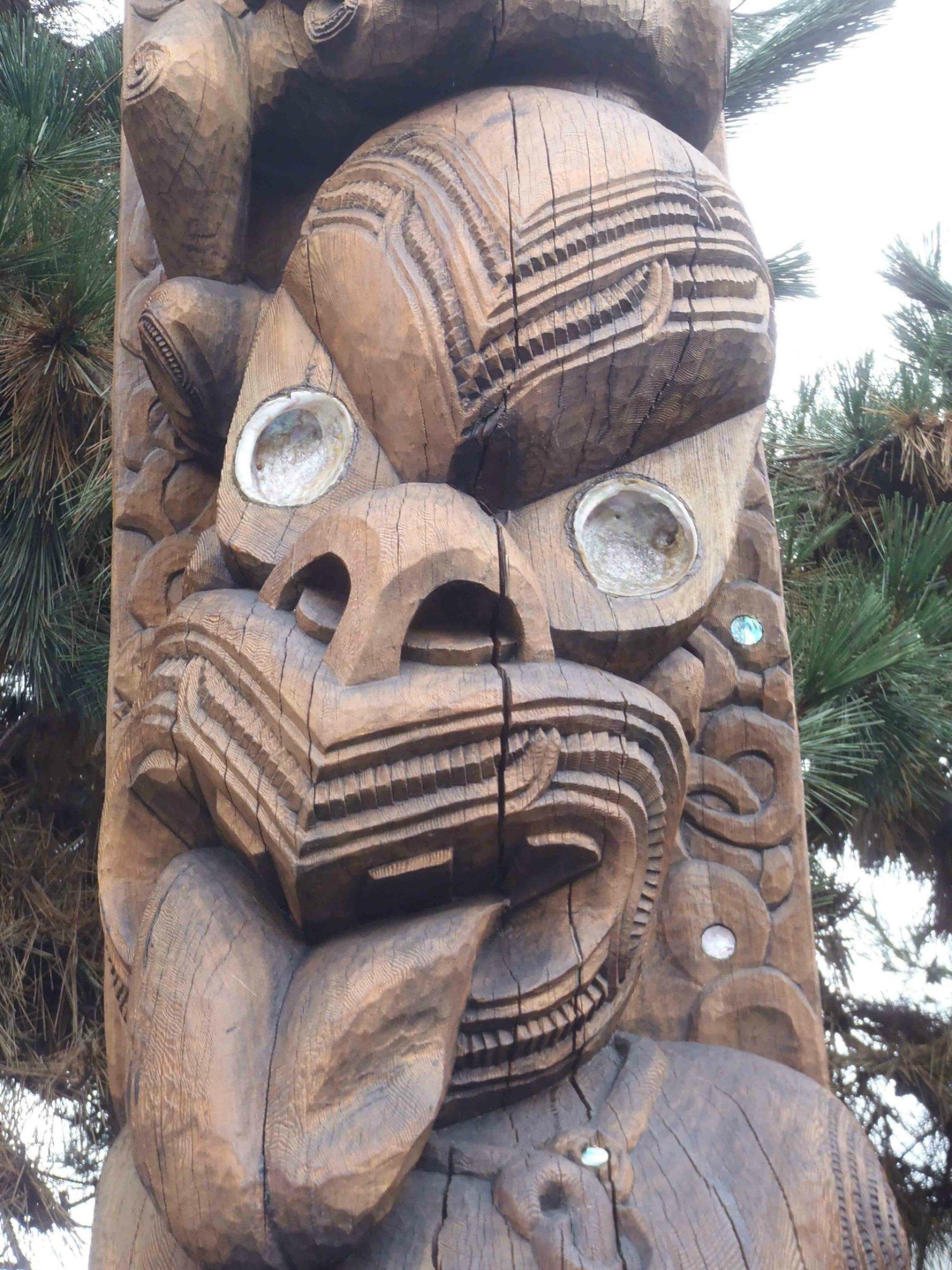 PouPou Tane Hiira Pou Karanga, Tane Hiira figure detail