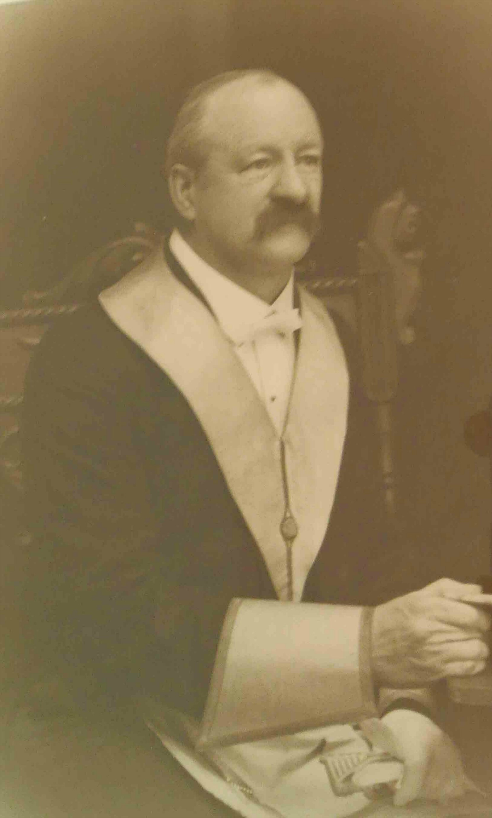 Roland Clayton Fawcett, in Masonic regalia, circa 1915