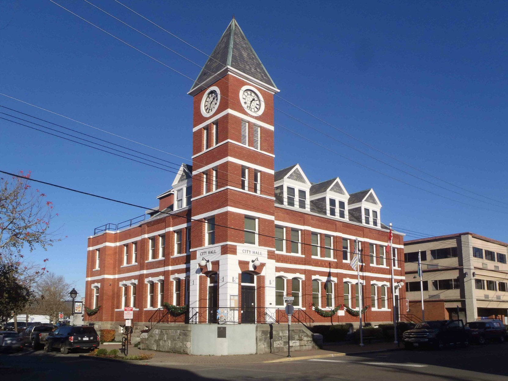 Duncan City Hall, Craig Street and Kenneth Street, Duncan