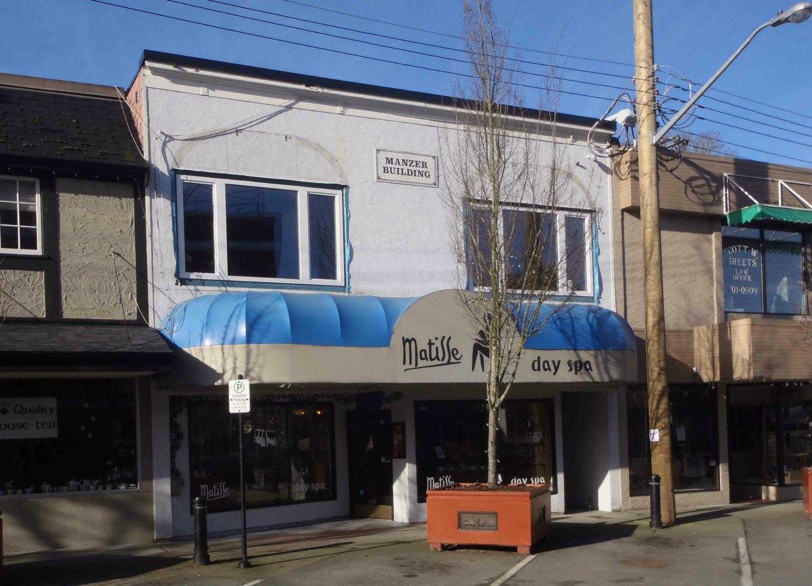 Manzer Building, 241 Craig Street