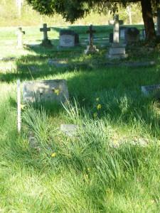 Harold Fairfax Prevost grave, St. Peter's Quamichan Anglican cemetery