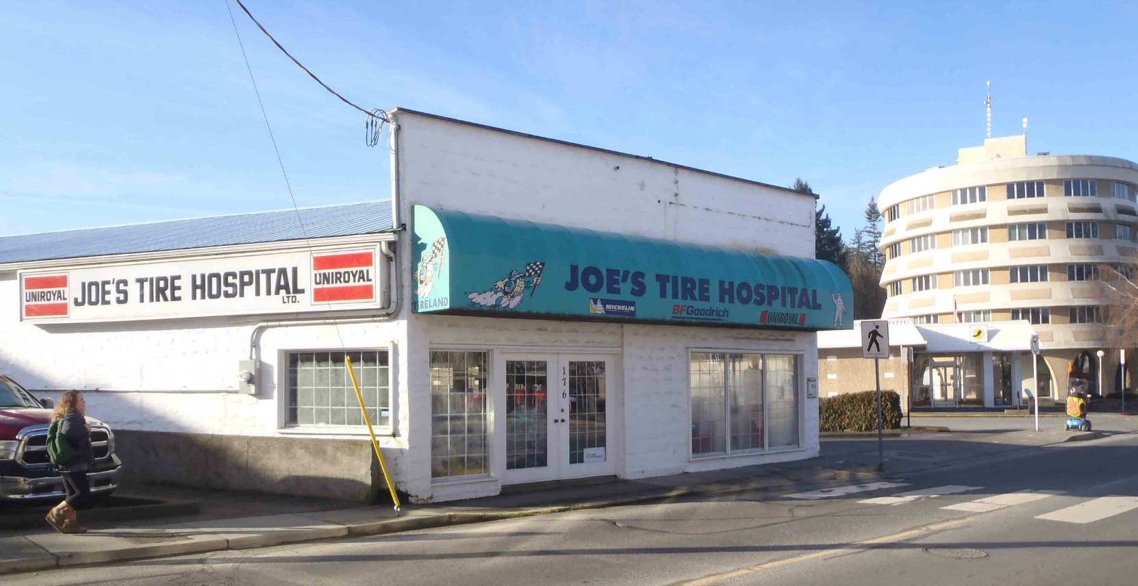 Joe's Tire Hospital, 176 Government Street