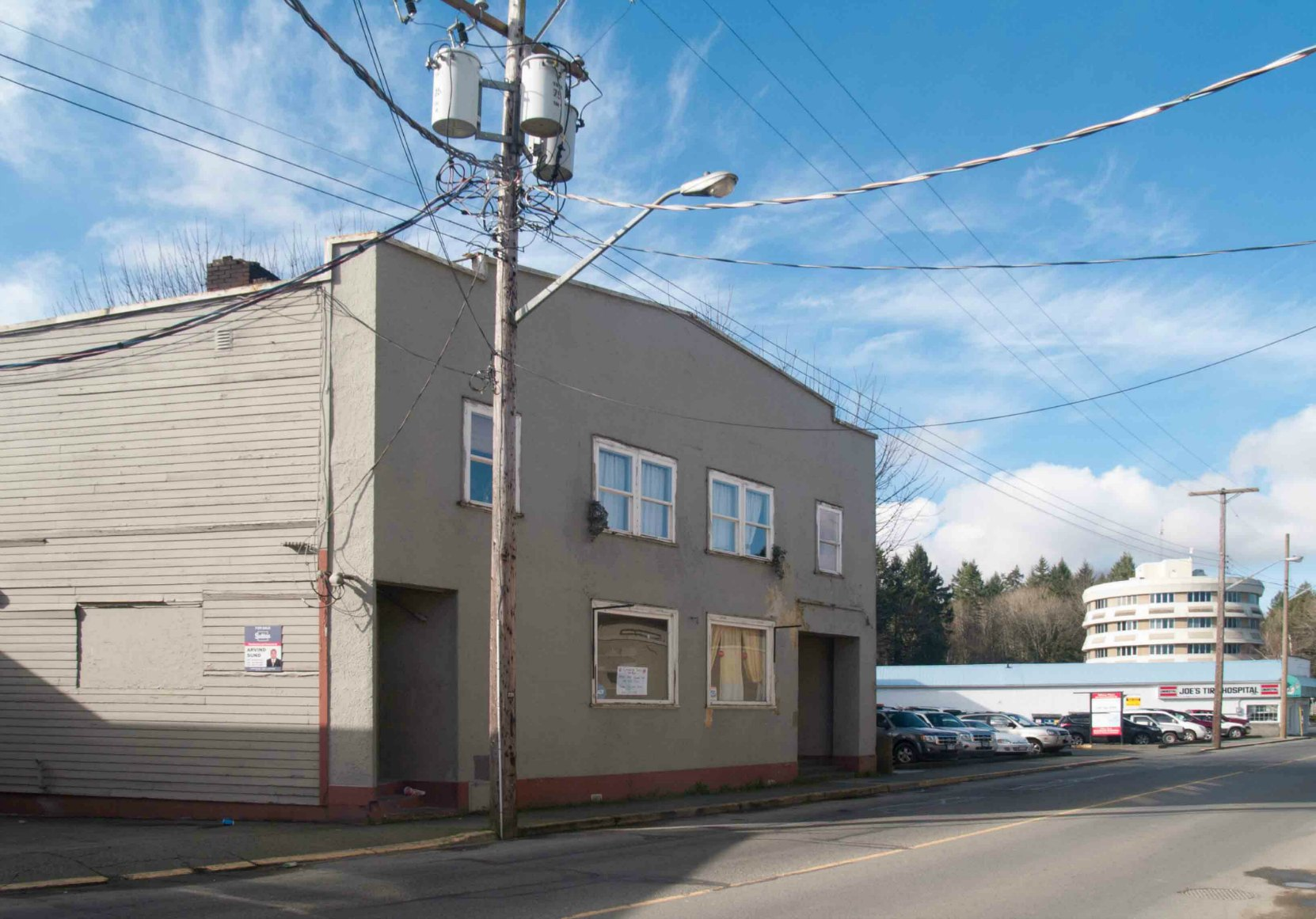 The former Canadian Legion building on Government Street, built in 1939 by architect Douglas James for the Canadian Legion, Cowichan Branch