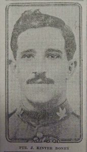 James Kinver Doney, died 1 March 1917, aged 25.