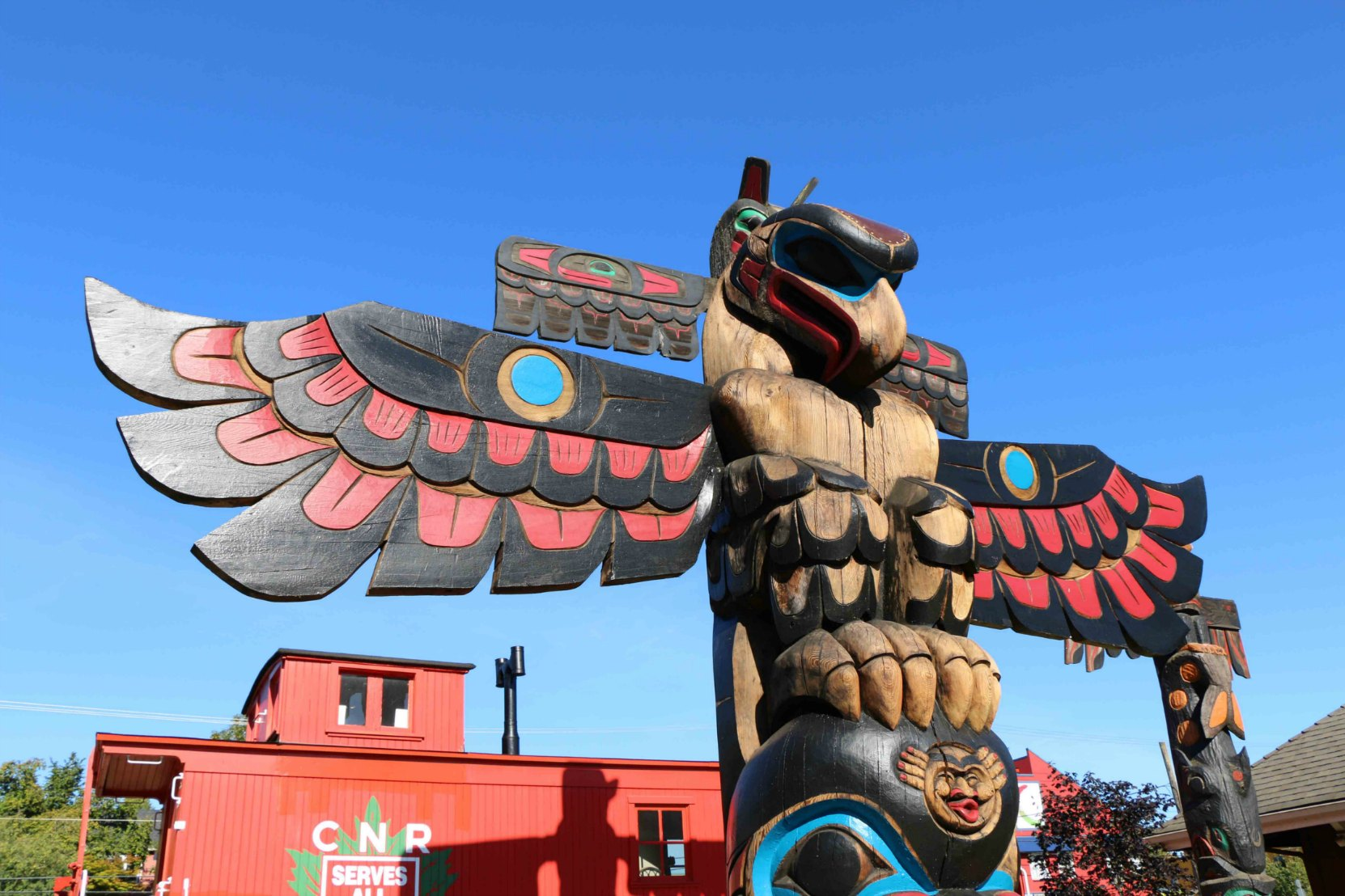 The Feast - Eagle figure - Canada Avenue and Kenneth Street