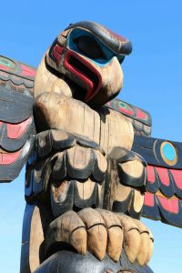 The Feast - Eagle figure detail - Canada Avenue and Kenneth Street